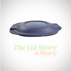 Pyrex - Blue 2.5 Quart Oval Roaster Lid