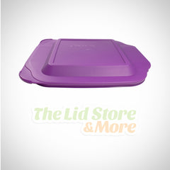 Pyrex - Purple 2 Quart 8''x8'' Square Baking Dish Lid