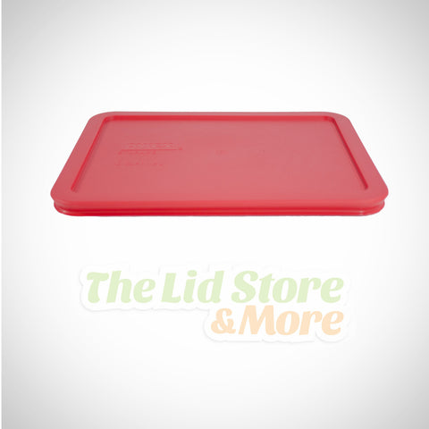 Pyrex - Red 6 Cup Container Lid