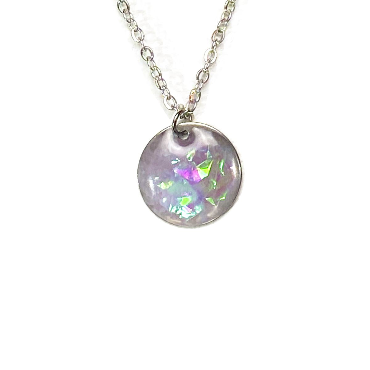 Unicorn Dreams - small holographic necklace necklace Deanna Dot Store