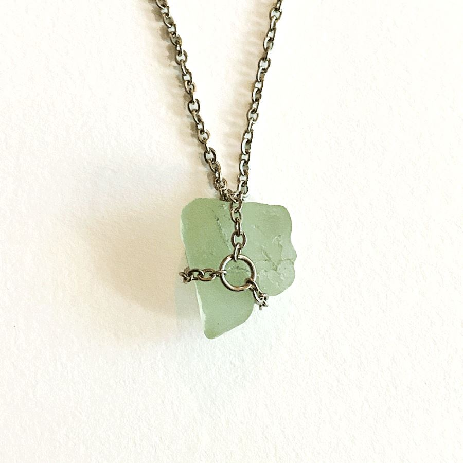 Beach Glass Necklace Deanna Dot Store