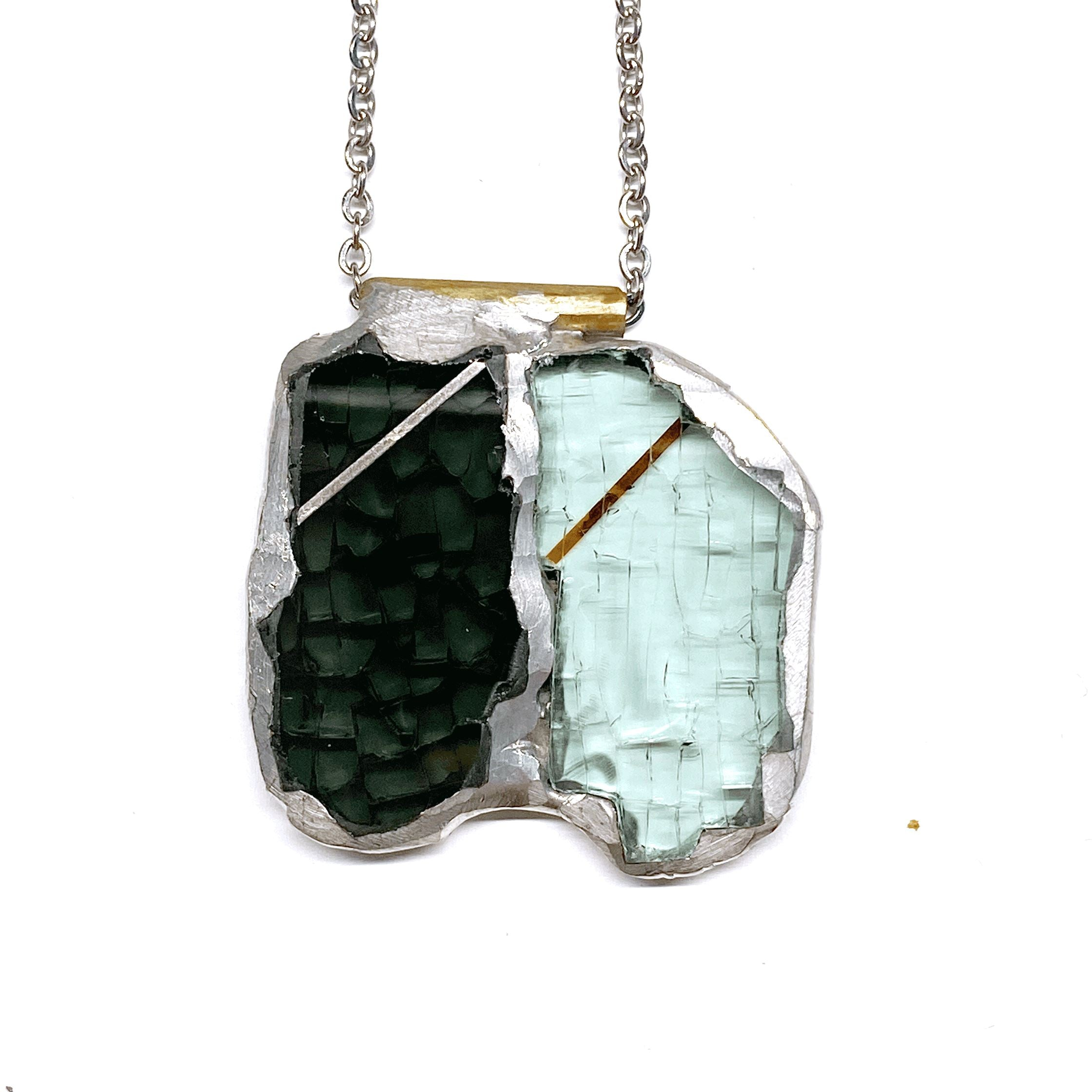 Auto Glass Necklace No.416 necklace Cleveland Street Glass