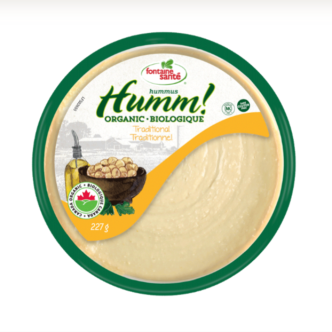 Humm! Hummus Biologique Traditionnel