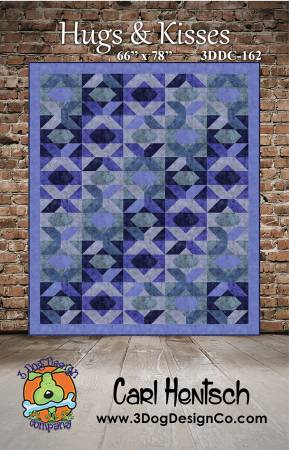 Hugs & Kisses quilt pattern by Carl Hentsch