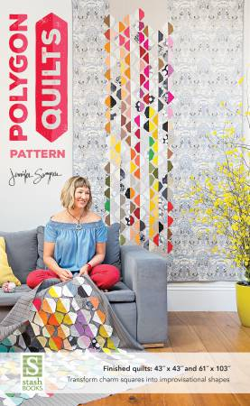 Polygon Quilt pattern by Jennifer Sampou