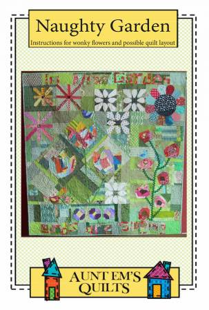 Naughty Garden quilt pattern by Emily Bailey
