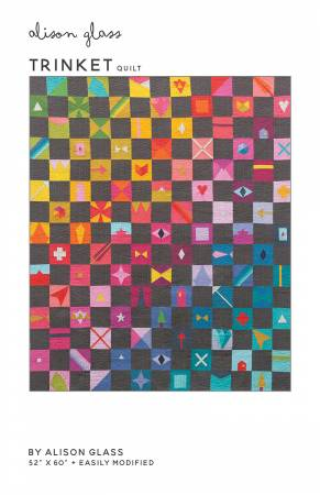 Trinket quilt pattern by Alison Glass
