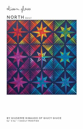 North quilt pattern by Alison Glass and Ribaudo Guiseppe