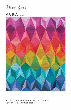 Aura quilt pattern by Alison Glass and Nydia Kehnle