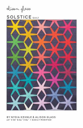 Solstice quilt pattern by Alison Glass and Nydia Kehnle