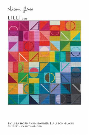 Lilli Quilt pattern by Lisa Hofmann-Maurer for Alison Glass