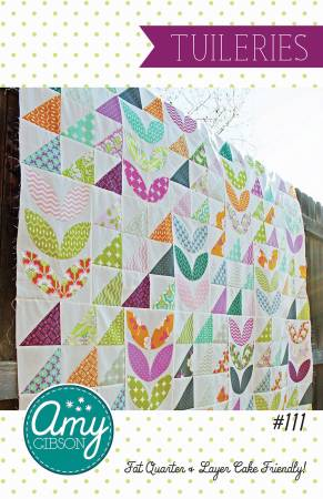 Tuileries quilt pattern by Amy Gibson