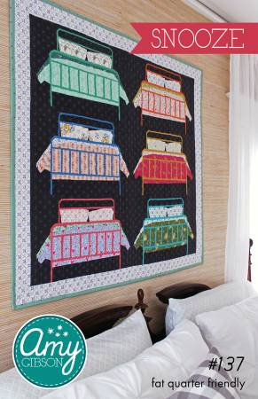 Snooze quilt pattern by Amy Gibson