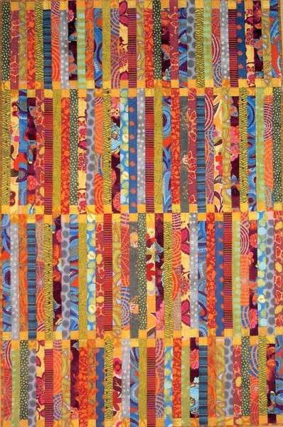 Deck Chair Quilt Pattern By Pamela Dinndorf The Quilter