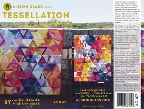 Tessellation quilt pattern by Alison Glass