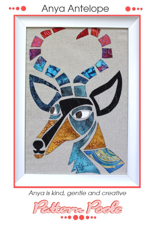 Anya Antelope quilt pattern by Monica & Alaura Poole