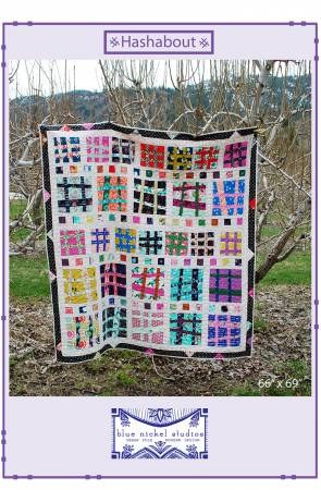 Hashtag quilt pattern by Scott Hansen