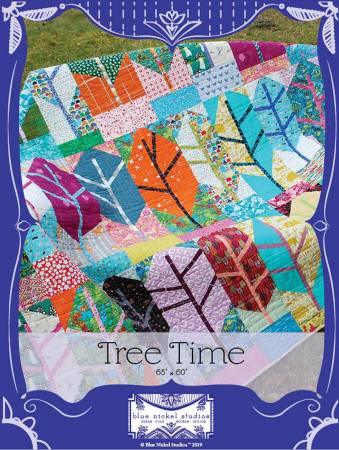 Tree Time quilt pattern by Blue Nickel Studios