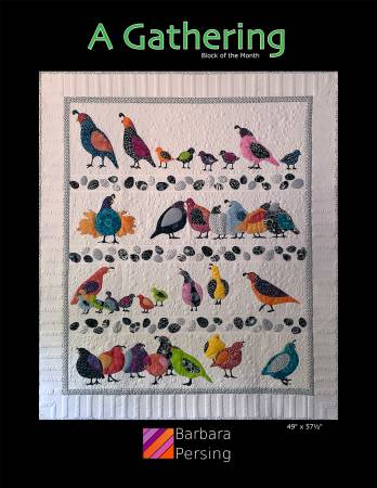A Gathering quilt pattern by Barbara Persing