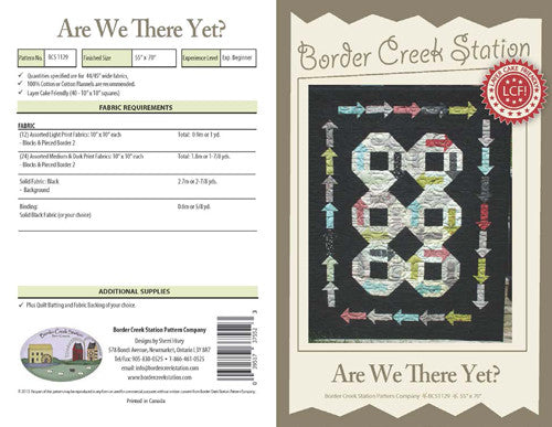 Are We There Yet? - The Quilter's Bazaar