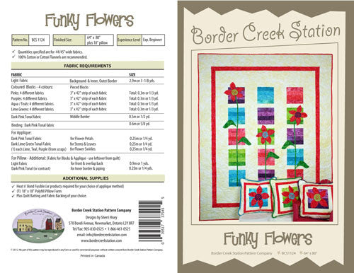 Funky Flowers - The Quilter's Bazaar