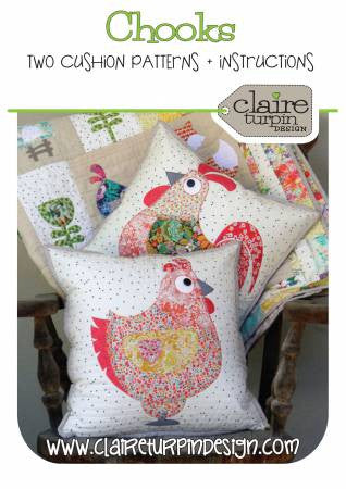 Chooks quilt pattern by Claire Turpin