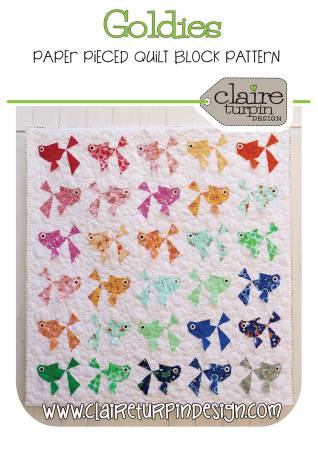 Goldies by Claire Turpin - The Quilter's Bazaar