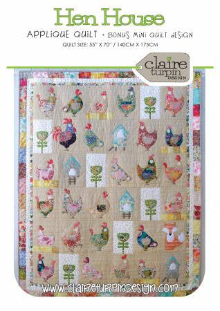 Hen House by Claire Turpin - The Quilter's Bazaar