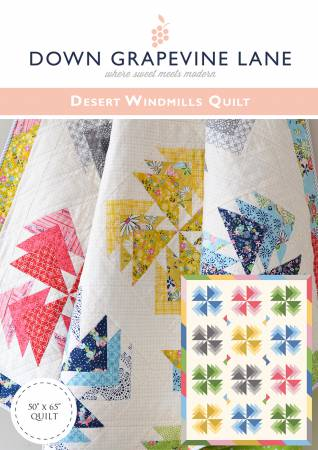 Desert Windmills by Sedef Imer - The Quilter's Bazaar