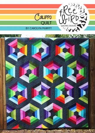 Calippo Quilt pattern by Carolyn Murfitt