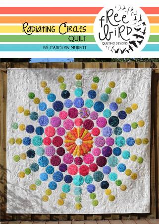 Radiating Circles quilt pattern