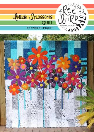 Indah Blossoms quilt pattern by Carolyn Murfitt