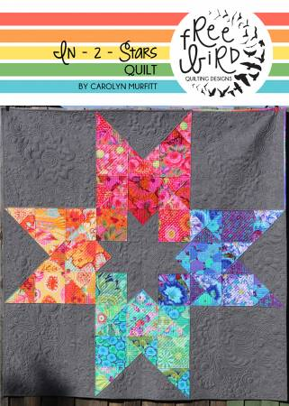 In 2 Stars quilt pattern by Carolyn Murfitt