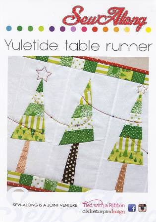Yuletide Table Runner - Sew Along