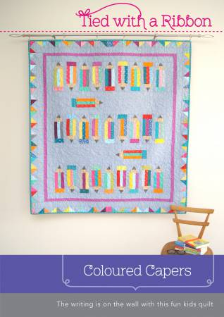 Colored Capers quilt pattern by Jemima Flendt - The Quilter's Bazaar