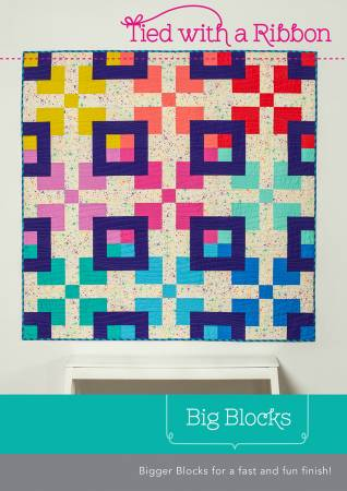 Big Blocks quilt pattern by Jemima Flendt