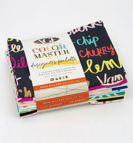 Dana bundle by Art Gallery Fabrics - 10 fat quarters