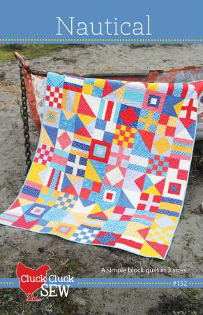 Nautical quilt pattern by Allison Harris