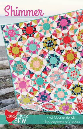 Shimmer quilt pattern by Allison Harris