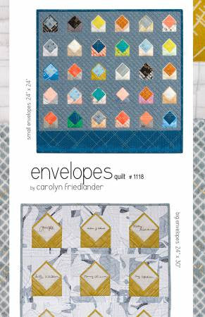 Envelopes Quilt - The Quilter's Bazaar