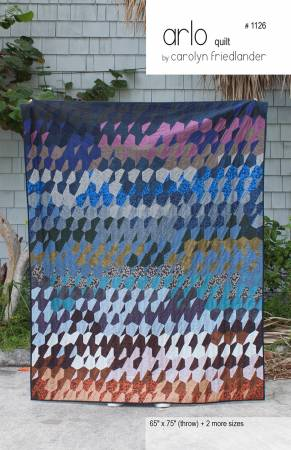 Arlo quilt pattern by Carolyn Friedlander