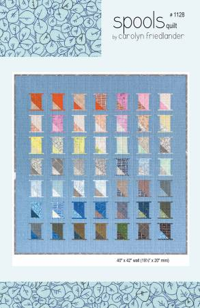 Spools quilt pattern by Carolyn Friedlander