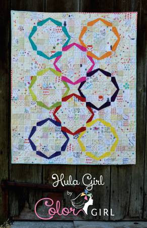 Hula Girl quilt pattern by Sharon McConnell