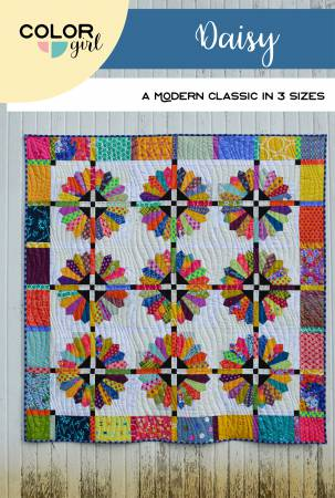 Daisy quilt pattern by Sharon McConnell