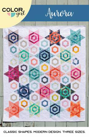 Aurora quilt pattern by Sharon McConnell