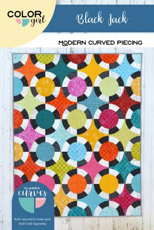 Black Jack quilt pattern by Sharon McConnell