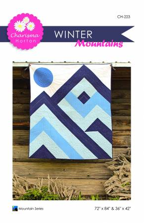 Winter Mountains quilt pattern by Charisma Horton