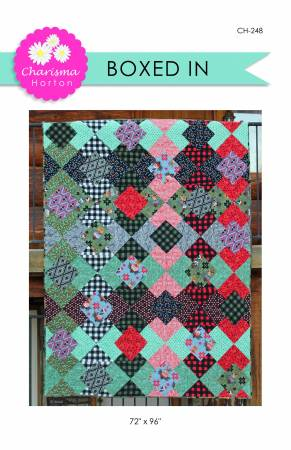 Boxed In quilt pattern by Charisma Horton