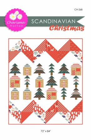 Scandinavian Christmas quilt pattern by Charisma Horton
