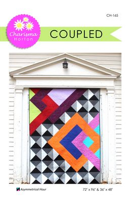 Coupled quilt pattern by Charisma Horton